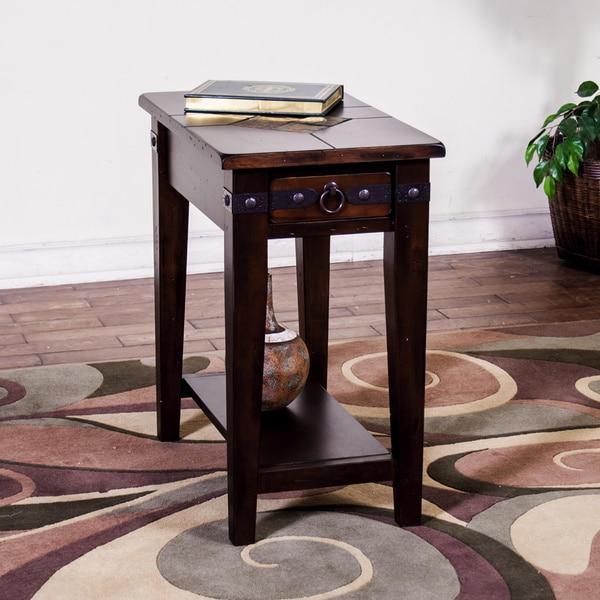 Shop Sunny Designs Santa Fe Chair Side Table Free