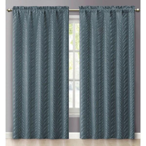 VCNY Kenya Rod Pocket 84-inch Curtain Panel - 55 x 84