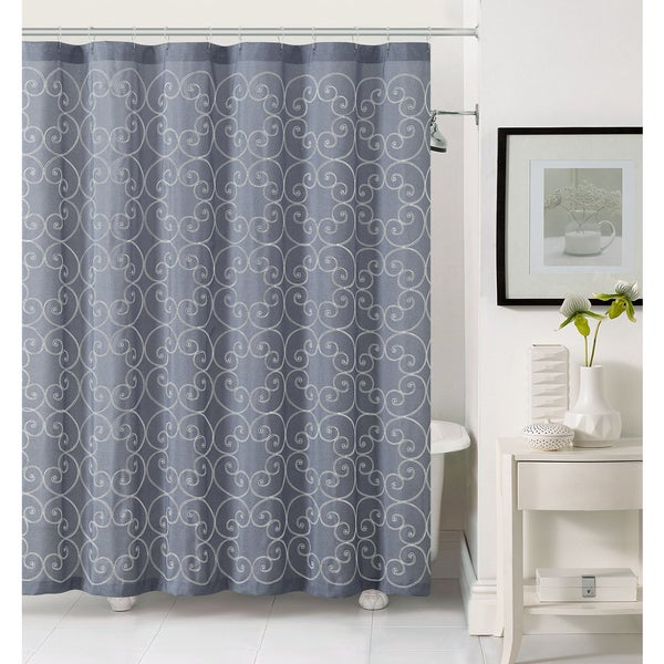 VCNY Stella Polyester Shower Curtain