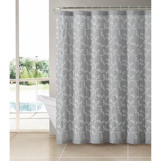 VCNY Caleb Polyester Shower Curtain