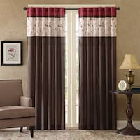 """Madison Park Belle Embroidered Window Curtain Panel - 50""""W X 84""""L"""