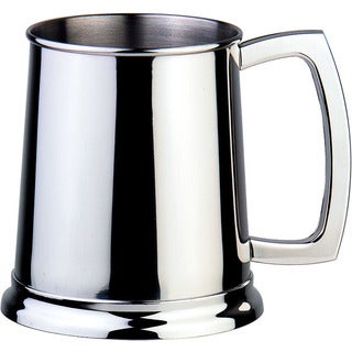 Visol Dortmund Polished Stainless Steel 16-ounce Mug