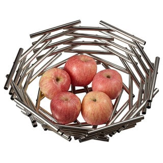 Visol Girard Large Stainless Steel Fruit Bowl