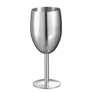 Visol Jacqueline Stainless Steel Champagne Glass