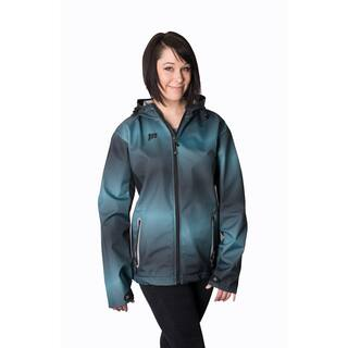 Mossi Women's Turquoise/ Black Adrenaline Windbreaker Jacket|https://ak1.ostkcdn.com/images/products/10083212/P17226488.jpg?impolicy=medium