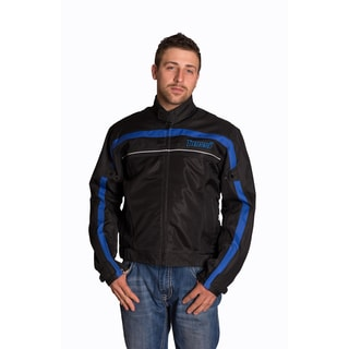 Mossi Jaunt Black/ Blue Jacket