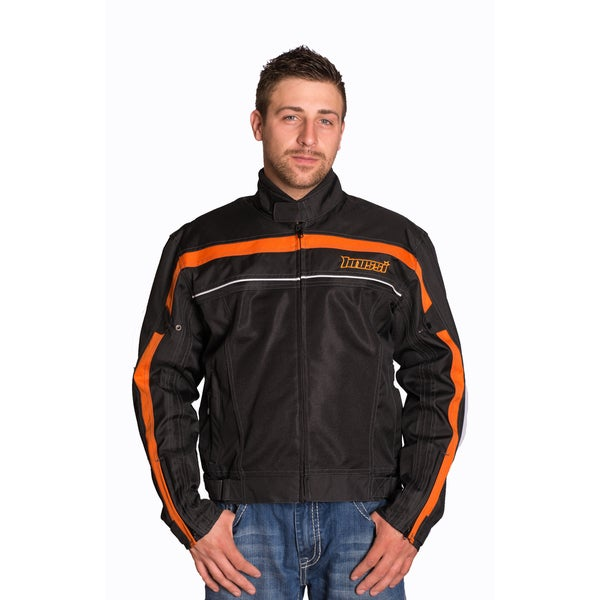 Mossi Jaunt Black/ Orange Jacket