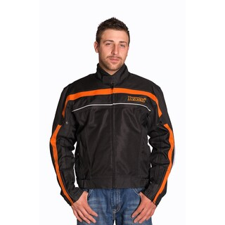 Mossi Jaunt Black/ Orange Jacket