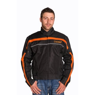 Mossi Jaunt Black/ Orange Jacket (2 options available)
