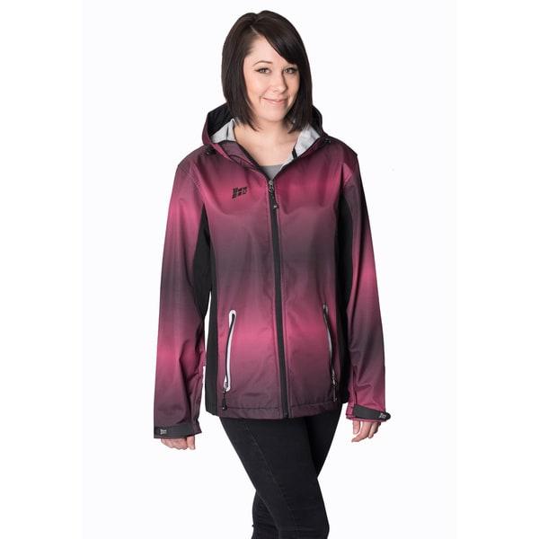 Mossi Adrenaline Fuchsia/ Black Rain Jacket