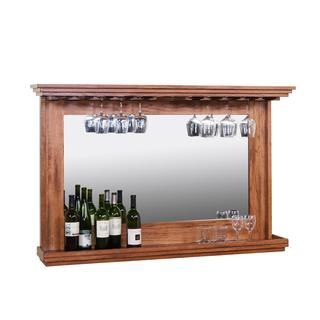 Sunny Designs Sedona Back Bar with Mirror and Light