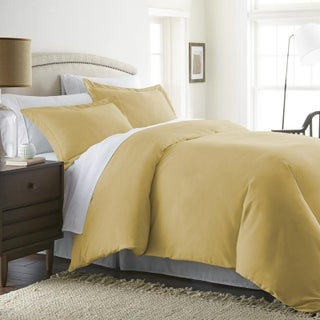 Becky Cameron Hotel Quality 3-piece Duvet Cover Set (Option: King - Cal King - Gold - 3 Piece)
