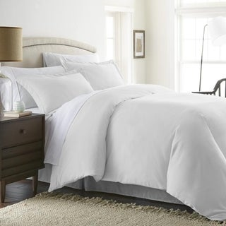 Becky Cameron Hotel Quality 3-Piece Duvet Cover Set (Full - Queen - White)