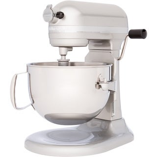 KitchenAid RKP26M1XSR Sugar Pearl 6-Quart Bowl-Lift Stand Mixer (Refurbished)