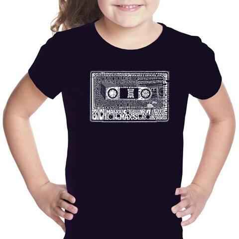 LA Pop Art Girl's The 80's T-shirt