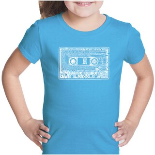 LA Pop Art Girl's The 80's T-shirt (More options available)