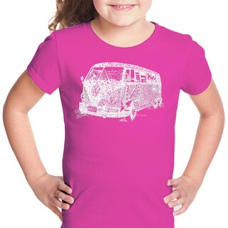 LA Pop Art Girl's The 70's T-shirt (More options available)
