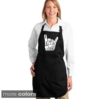 Heavy Metal Fingers Kitchen Apron