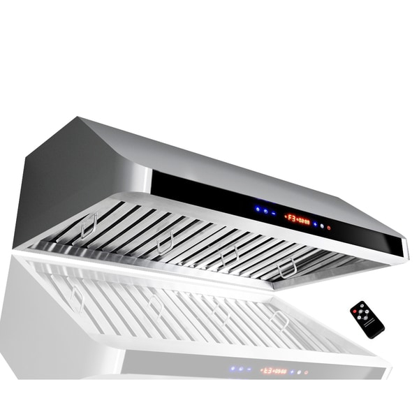 Golden Vantage 30-inch OSIRH1801A-30-GV Stainless Steel Under Cabinet Mount Range Hood