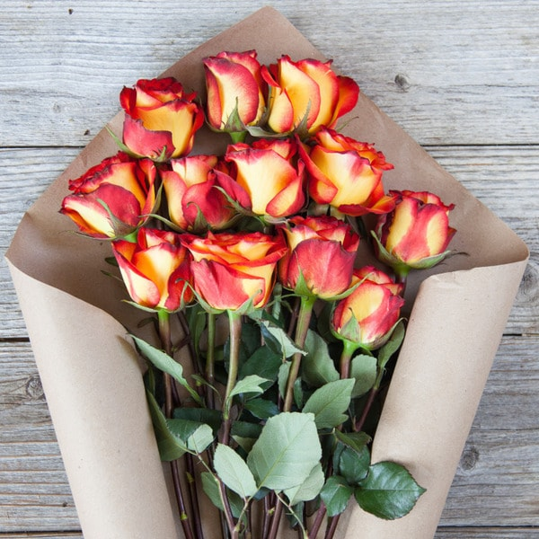 The Bouqs Volcano Collection Fortified Original Rose Bouquet