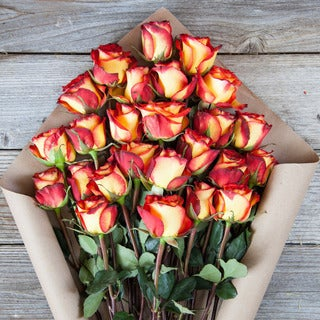 The Bouqs Volcano Collection Fortified Deluxe Rose Bouquet