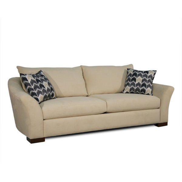 Contemporary Dedra Flared Arm Sofa