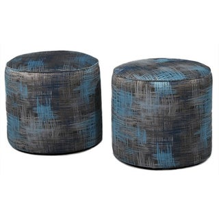 Cornelia Round Occasional Ottoman (Pack of 2)