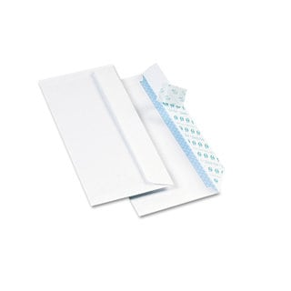 Quality Park White Redi-Strip Security Tinted Envelope
