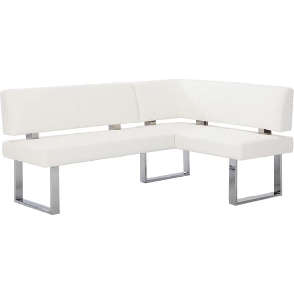 Christopher Knight Home Leah White Nook Corner Bench - Free Shipping ...