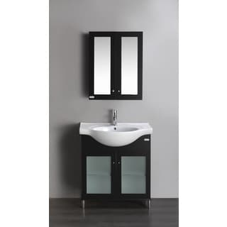 Eviva Tux 24-inch Single Bathroom Vanity in Espresso