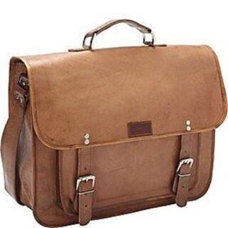 Sharo 16-inch Brown Laptop/ Tablet Flapover Briefcase|https://ak1.ostkcdn.com/images/products/10083720/Sharo-16-inch-Brown-Laptop-Tablet-Flapover-Briefcase-P17226919.jpg?impolicy=medium