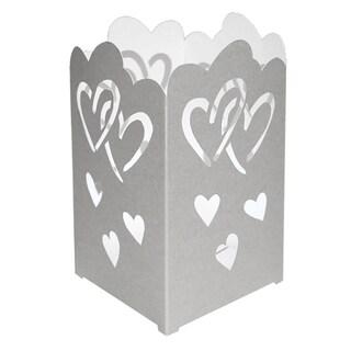 Tabletop Paperboard Hearts Lantern (Set of 12)