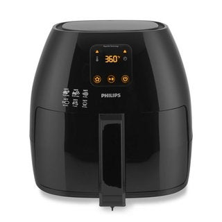 Shop Philips Hd9220 26 Black Airfryer With Rapid Air