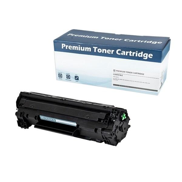 HP 83A (CF283A) Compatible Toner Cartridge (Black) - Black