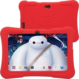 """Tablet Express Dragon Touch 7"""" Android Kids Tablet - Red"""