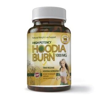 High Potency Hoodia Burn 1000mg Time Release Bottle (60 Tablets)
