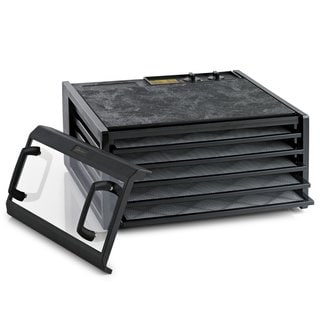Excalibur Dehydrator 5-Tray Clear Door with Timer (3526TCDB)