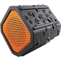 EcoPebble Waterproof Bluetooth Speaker with Bike Mount - Orange