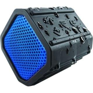 EcoPebble Waterproof Bluetooth Speaker with Bike Mount - Blue