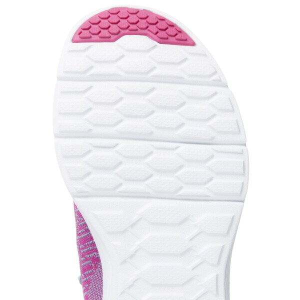 Shop Skechers USA Sport Pink Light Blue Valeris Relaxed Fit