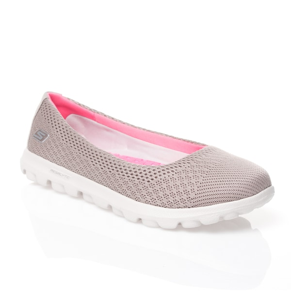 Skechers On the GO Mesh Ballet Flats with GOga Mat Ritz