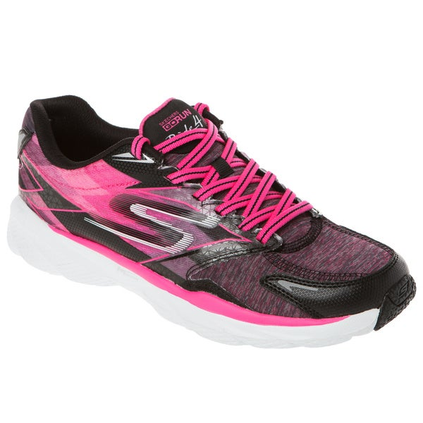 Shop Skechers USA GO Run Ride 4 Excess Heathered Cushioned