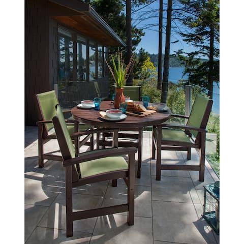 POLYWOOD® Coastal 5-piece Outdoor Dining Set