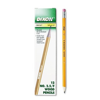 Dixon Yellow Barrel Oriole Woodcase Pencil (10 Packs of 12)
