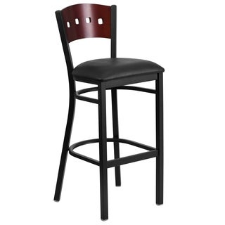Heavy-duty Wooden Commerical Bar Stool