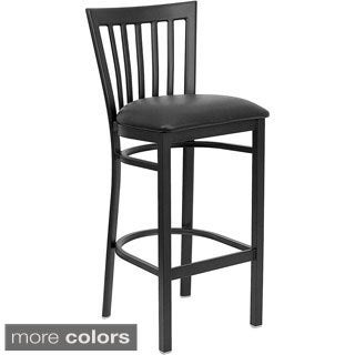 Bar Back Metal Restaurant Bar Stool