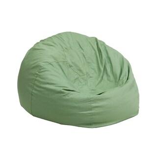 Fabric Kids' Lounge Bean Bag (Option: Green)