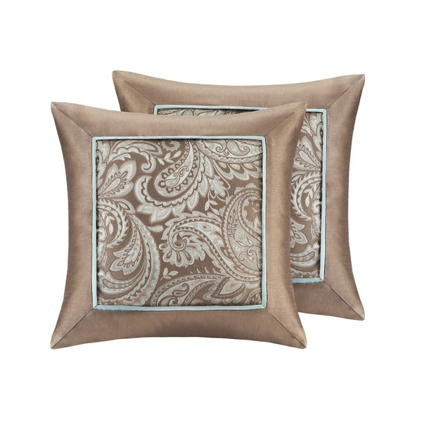 Madison Park Whitman Jacquard Square Throw Pillow (Set of 2). Opens flyout.