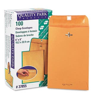 Quality Park Clasp Brown Kraft Envelopes (Pack of 2)|https://ak1.ostkcdn.com/images/products/10085090/P17228056.jpg?impolicy=medium