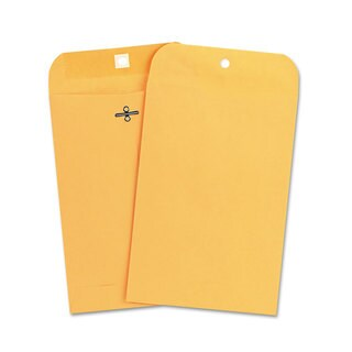 Universal Kraft Clasp Light Brown Envelopes (Pack of 2)